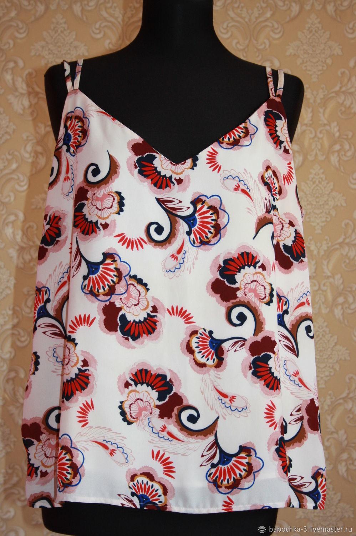 Винтаж: Топ Marks&Spencer,NEXT 52 размер, Одежда винтажная, Старая Купавна,  Фото №1