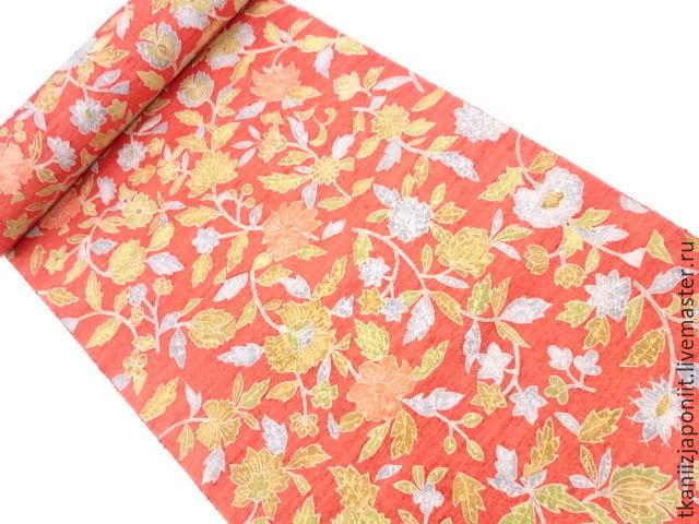 Japanese silk 'colors of summer', Fabric, Chelyabinsk,  Фото №1