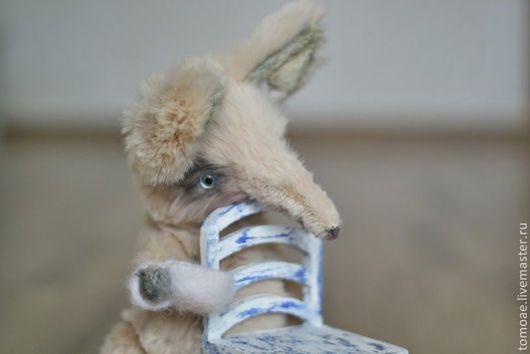 Мишки Тедди ручной работы. Ярмарка Мастеров - ручная работа. Купить Лисичка Коричка. Handmade. Бежевый, лиса из меха, miuki