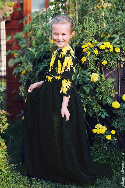Одежда для девочек, ручной работы. Ярмарка Мастеров - ручная работа. Купить Платье для девочки нарядное. Handmade. Платье для девочки