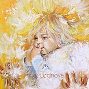 Картины и панно handmade. Livemaster - original item Sunny baby. Handmade.