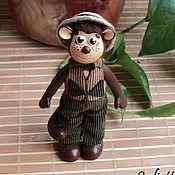 """Куклы и игрушки ручной работы. Ярмарка Мастеров - ручная работа Обезьянка """"Мартин"""". Handmade."""