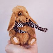 Куклы и игрушки ручной работы. Ярмарка Мастеров - ручная работа Кролик Сильвиан. Handmade.