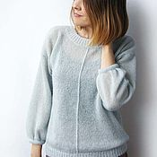Одежда handmade. Livemaster - original item Sweater mohair APR. Handmade.