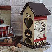 """Для дома и интерьера ручной работы. Ярмарка Мастеров - ручная работа Чайный домик """"Уютное кафе"""". Handmade."""