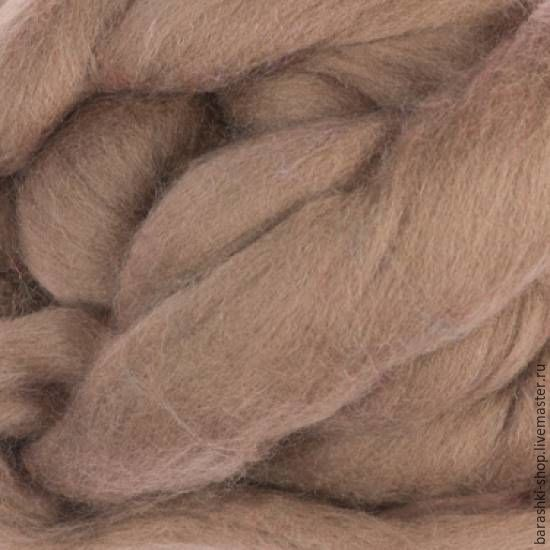 Merino 18 micron fly Ash 50 grams, Wool, Moscow,  Фото №1