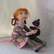 """Куклы и игрушки ручной работы. Ярмарка Мастеров - ручная работа Авторская кукла """"Все равно его не бошу..."""". Handmade."""