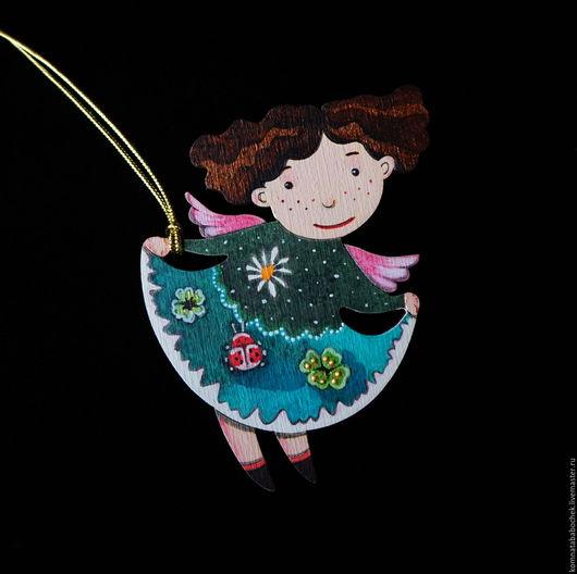 Подвески ручной работы. Ярмарка Мастеров - ручная работа. Купить Ангел с веснушками. Handmade. Подвеска ангел, пасхальный декор