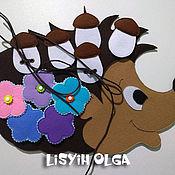 Куклы и игрушки handmade. Livemaster - original item The hedgehog felt. Handmade.