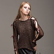 Одежда handmade. Livemaster - original item Pullover with sequins. Handmade.