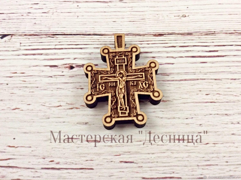 Крестик нательный деревянный (древнерусский), Крестик, Симферополь,  Фото №1