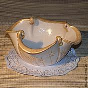 """Посуда ручной работы. Ярмарка Мастеров - ручная работа Салатник """"Праздник каждый день"""". Handmade."""