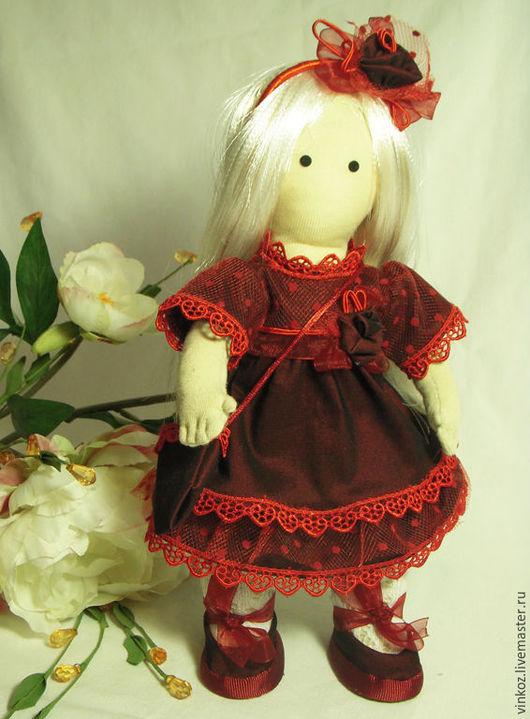 Коллекционные куклы ручной работы. Ярмарка Мастеров - ручная работа. Купить кукла Арина, игровая кукла. Handmade. Кукла интерьерная