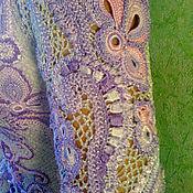 """Одежда ручной работы. Ярмарка Мастеров - ручная работа """"Любава"""" вязаное платье крючком. Handmade."""