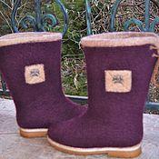 Обувь ручной работы. Ярмарка Мастеров - ручная работа Сапожки зимние. Handmade.