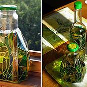 Посуда ручной работы. Ярмарка Мастеров - ручная работа Бутылки декоративные. Handmade.