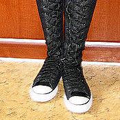 Обувь ручной работы. Ярмарка Мастеров - ручная работа Кеды-брюки. Handmade.