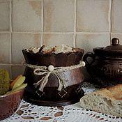Сахарницы ручной работы. Ярмарка Мастеров - ручная работа Сухарница-конфетница. Handmade.