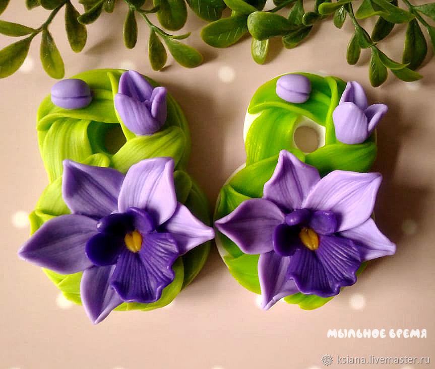 """Мыло """"Восьмерка с орхидеей"""", Мыло, Москва,  Фото №1"""