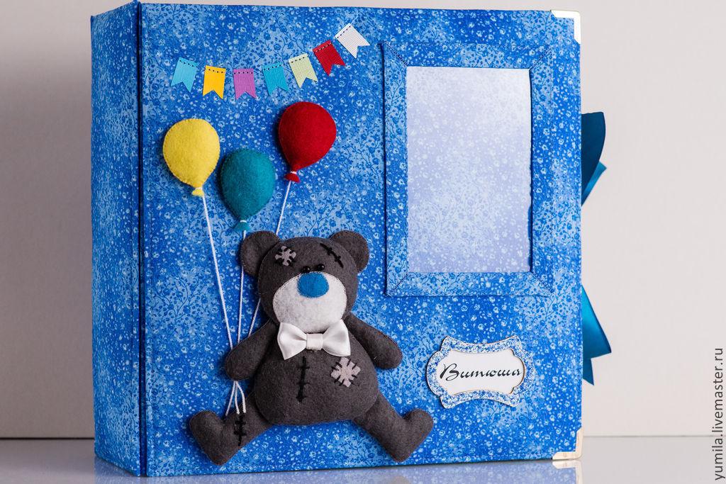 Альбом для фотографий малыша первого года жизни, Фотоальбомы, Москва,  Фото №1