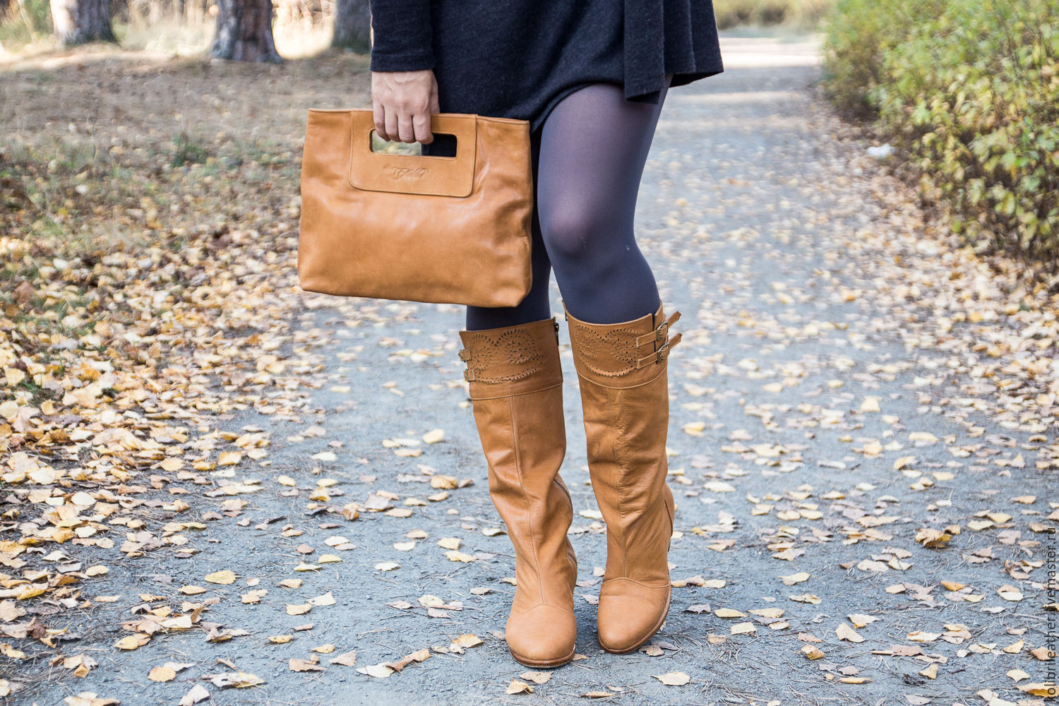 Leather winter boots, High Boots, Denpasar,  Фото №1
