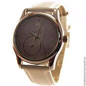 Украшения ручной работы. Ярмарка Мастеров - ручная работа Дизайнерские наручные часы Велосипед Пенни-Фартинг. Handmade.