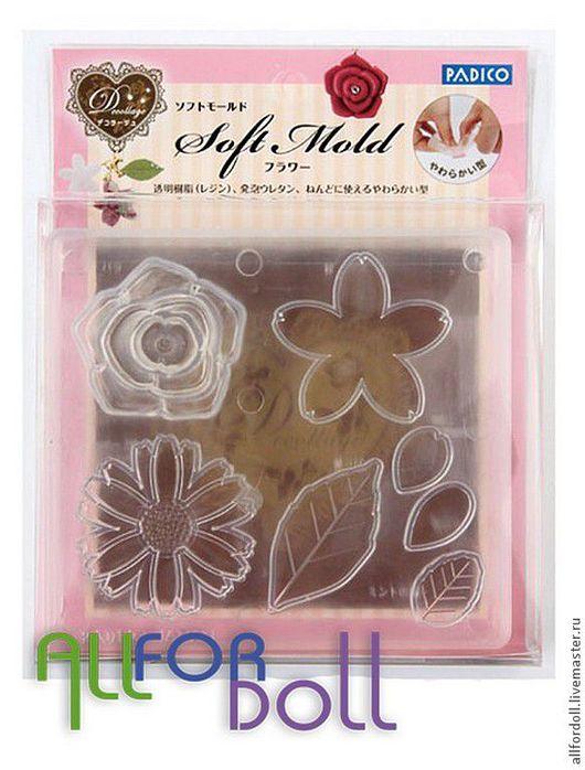 """Для украшений ручной работы. Ярмарка Мастеров - ручная работа. Купить Soft Mold Flower (мягкий молд """"Цветок""""). Handmade."""