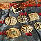 Men's leather belt 'Prairie' brown. Straps. schwanzchen. My Livemaster. Фото №6