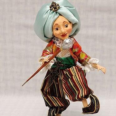 Куклы и игрушки ручной работы. Ярмарка Мастеров - ручная работа Маленький Мук авторская кукла. Handmade.
