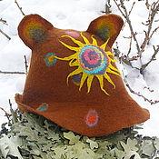 Для дома и интерьера ручной работы. Ярмарка Мастеров - ручная работа шапка банная. Handmade.