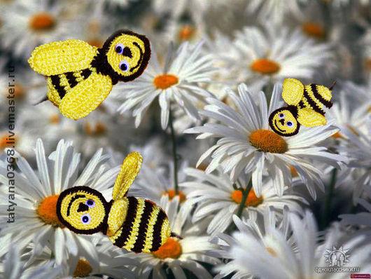 Сказочные персонажи ручной работы. Ярмарка Мастеров - ручная работа. Купить пчёлка майя. Handmade. Вискоза